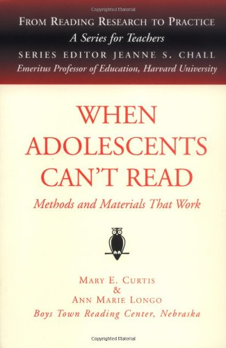 When Adolescents Can't Read 9781571290694