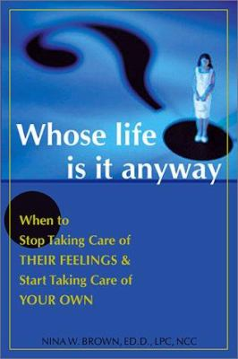 Whose life is it anyway essay