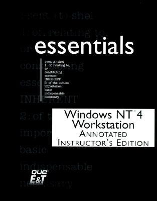 Windows NT 4.0 Workstation Essentials [With *] 9781575769998