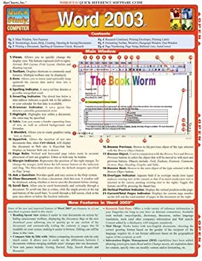 Word 2003 Laminate Reference Chart 9781572227989