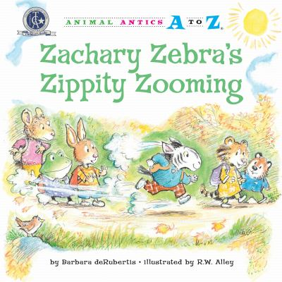 Zachary Zebra's Zippity Zooming 9781575653594