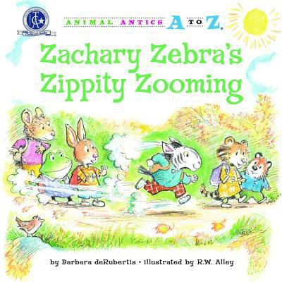 Zachary Zebra's Zippity Zooming 9781575654195