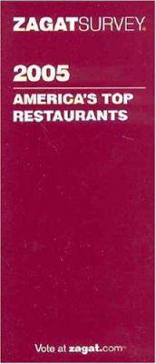 Zagat Americas Top Restaurants 9781570066412