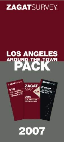 Zagat Los Angeles Around-The-Town Pack 9781570068294