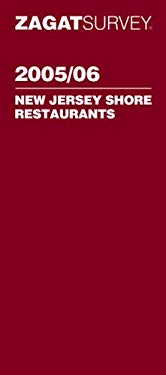 Zagat New Jersey Shore Restaurants Pocket Guide 9781570067174