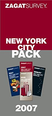 Zagat New York City Pack 4 Volume Boxed Set 9781570068355