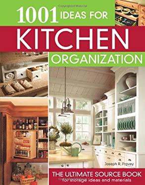 1001 Ideas for Kitchen Organization 9781580113618