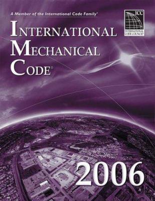 2006 International Mechanical Code 9781580012560