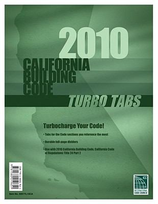 California Building Turbo Tabs 9781580019651
