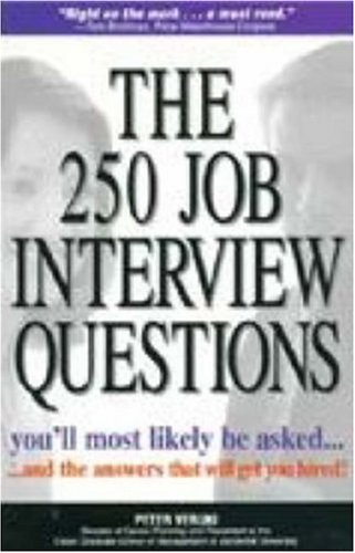 250 Job Interview Questions You'll Most Likely Be Asked 9781580621175