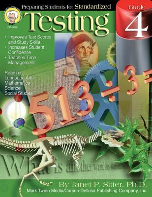 Preparing Students for Standardized Testing, Grade 4 9781580372664