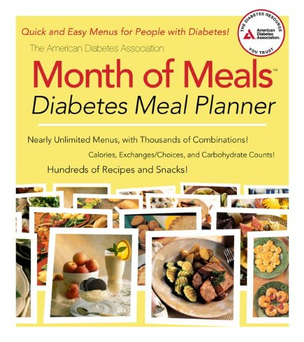 Month of Meals Diabetes Meal Planner 9781580403368