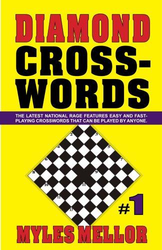 Easy Diamond Crosswords #1 9781580422703
