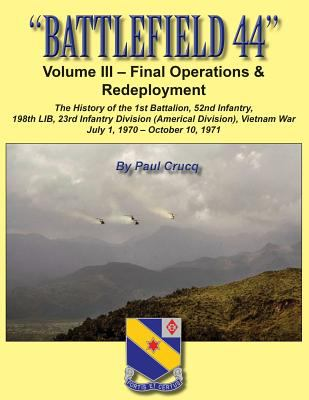 BATTLEFIELD 44: Volume III - Final Operations & Redeployment: The History of the 1st Battalion, 52nd Infantry, 198th LIB, 23rd Infantry Division (Amer