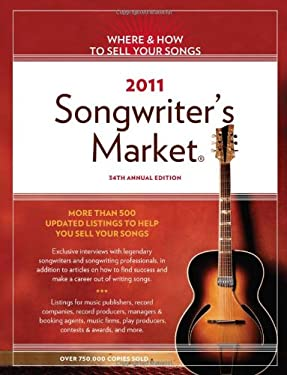 2011 Songwriter's Market 9781582979540