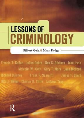 Lessons of Criminology 9781583605127