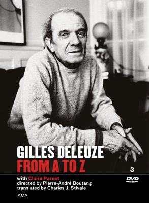 Gilles Deleuze from A to Z 9781584351016