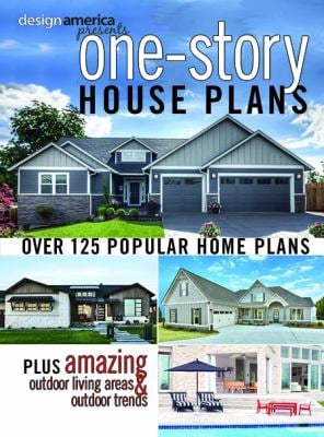 Design America Presents One-Story House Plans: Over 125 Popular Home Plans