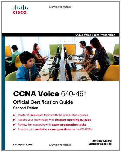 CCNA Voice 640-461 Official Cert Guide [With CDROM] 9781587204173