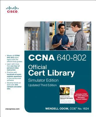 CCNA 640-802 Official Cert Library, Simulator Edition [With DVD] 9781587204371