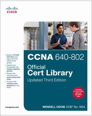 CCNA 640-802 Official Cert Library [With 2 DVDs] 9781587204388