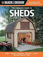 Black & Decker The Complete Guide to Sheds 13128406