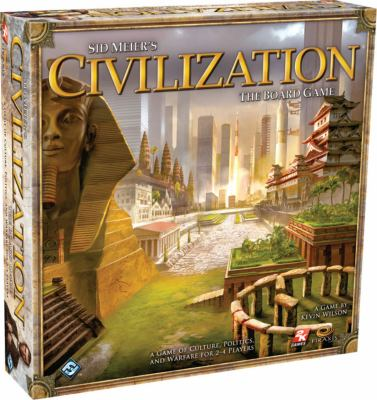 Sid Meier's Civilization Board Game: A Game of Culture, Politics, and Warfare for 2-4 Players