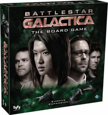 Battlestar Galactica: Exodus Expansion 9781589949751