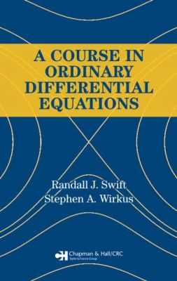 A Course in Ordinary Differential Equations 9781584884767