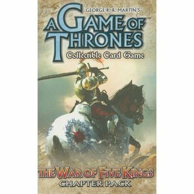 A Game of Thrones: The War of Five Kings: Collectible Card Game Chapter Pack 9781589943759