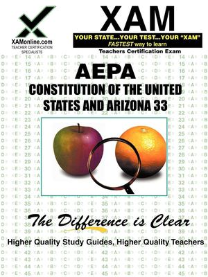 AEPA Constitutions of the United States and Arizona 33 9781581977455