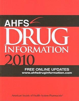 AHFS Drug Information 9781585282470