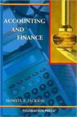 Accounting and Finance 9781587788468