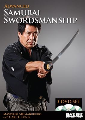 Advanced Samurai Swordsmanship (3 DVD Set) 9781581334791