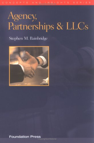 Agency, Partnerships & LLCs 9781587785085