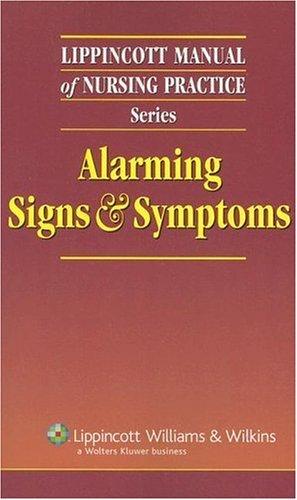 Alarming Signs & Symptoms 9781582556246