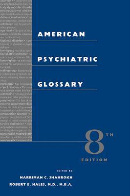 American Psychiatric Glossary 9781585620937