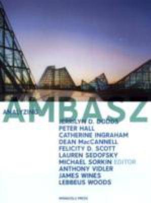 Analyzing Ambasz 9781580931359