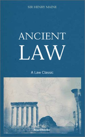 Ancient Law 9781587980688