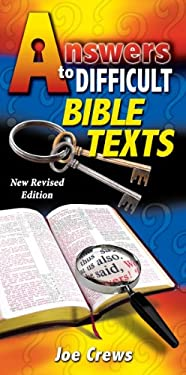 Answers to Difficult Bible Texts 9781580190084