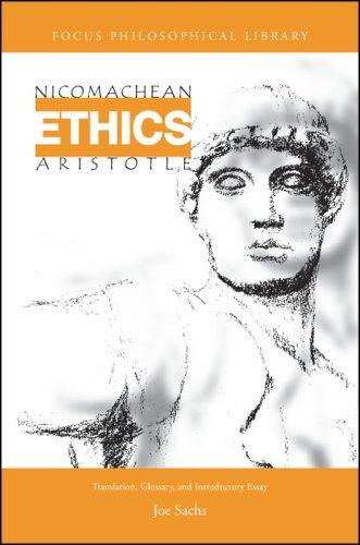 Aristotle's Nicomachean Ethics 9781585100354