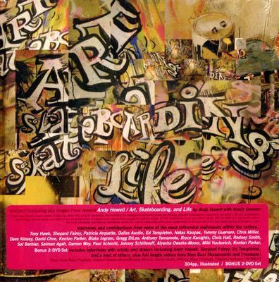 Art, Skateboarding and Life [With 2 DVDs] 9781584232216