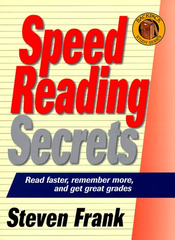 Backpack Series-Speed Reading 9781580620253