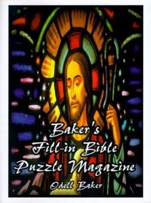 Baker's Fill-In Bible Puzzle Magazine 9781585002962