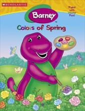 Barney's Colors of Spring ( Paint with Water Color & Activity): Paint with Water Color Activity Book 7195725