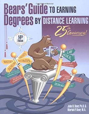 Bear's Guide to Earning Degrees by Distance Learning 9781580082020