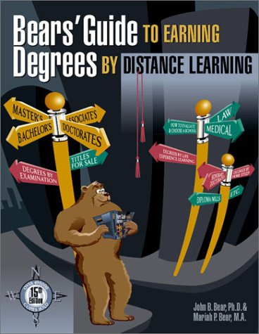 Bears' Guide to Earning Degrees by Distance Learning 9781580084314