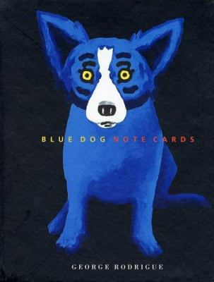 Blue Dog - Note Cards [With 15] 9781584790136