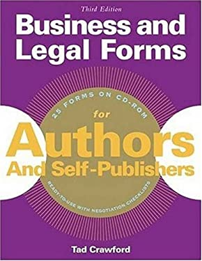 Business and Legal Forms for Authors and Self-Publishers [With CDROM] 9781581153958
