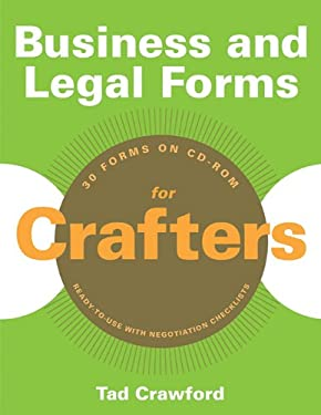 Business and Legal Forms for Crafters [With CDROM] 9781581159158